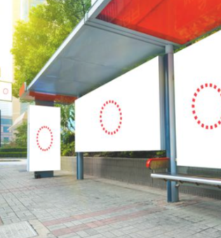 Multiple BUS SHELTER ADS